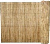 vidaXL Tuinomheining riet 500 x 100 cm