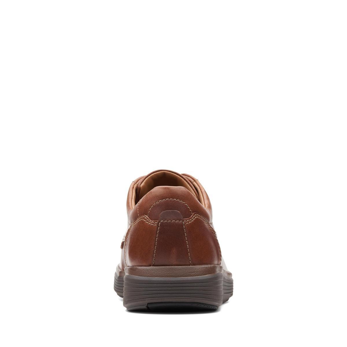 Clarks Heren Veterschoenen - Cognac - Maat 42 Veterschoenen