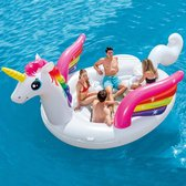 Intex Luchtbed Unicorn Party Island 57266EU