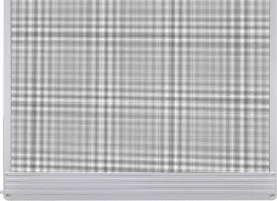 vidaXL Hordeur met scharnieren 120x240 cm wit