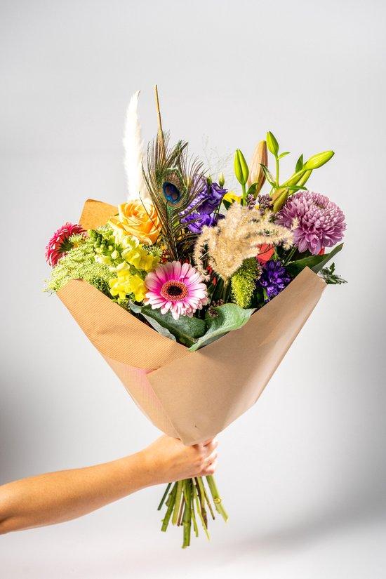 Dutch Flower House | Boeket | Maat XL | Bloemenmix | handgebonden
