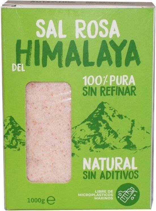 Himalaya Zout - Roze - grof -Sal Rosa del Himalaya - natuurlijk 100% ongeraffineerd