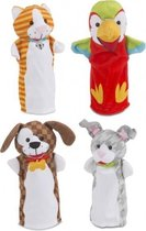 handpoppen playful pets 4 dieren
