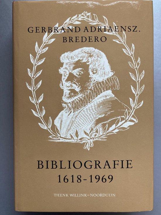 Objectieve persoonsbibliogr.g.a.bredero