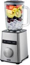 MOA Krachtige Blender - Met glazen kan - Blender Smoothie - ice crusher - 1,5 liter - 1000 Watt- TB70S
