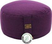 Zentana  Meditatiekussen - Yogi & Yogini - Biologisch Katoen - Verstelbaar - Violet