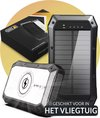 Surge Solar Powerbank - 20.000mAh voor iPhone en Samsung –  Met draadloos opladen & USB-C – 18W Quick Charge 3.0 en PD Fast Charge - 4 outputs