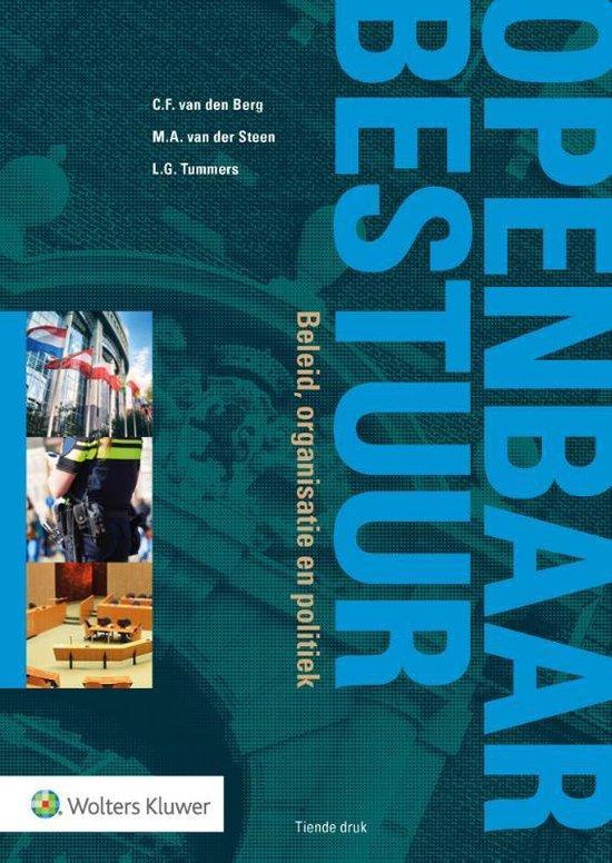 Boek cover Openbaar Bestuur, beleid, organisatie en politiek van  (Paperback)