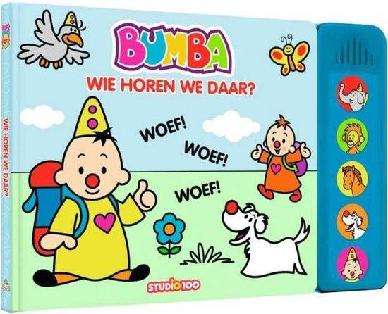 Boek cover Bumba : boek met dierengeluiden van Gert Verhulst (Hardcover)