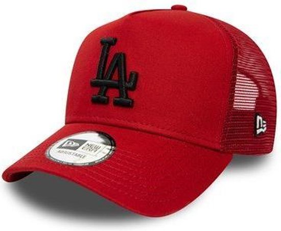 New Era LA Dodgers League Essential Red A-Frame Trucker Cap *LIMITED EDITION