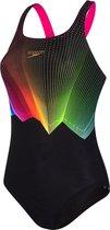 Speedo Colour Glow  Sportbadpak - Maat 34 Volwassenen - zwart/blauw/roze/geel/groen