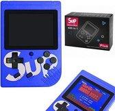 Blauwe game boy / game box / 400 in 1