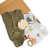 Baby geschenkset Jongen - Kraampakket - Baby Cadeau - Geboorte Cadeau - Babyshower geschenkset