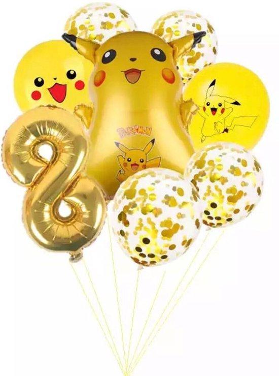 Pokemon Ballon Droom Thema Party Decoratie Benodigdheden Pikachu Verjaardagsfeestje Pocket Ballon Gift, Nummer 8