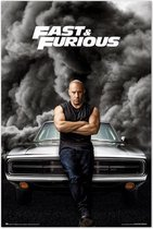 The Fast and the Furious poster-film-Vin Diesel-61x91.5cm.