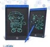 LuKids Tekentablet Kinderen 10 Inch – Speelgoed Meisjes & Jongens - Magisch Tekenbord - Tekenbord Kinderen - Magnetisch Tekenbord -  Tekentablet met Scherm - Leren Tekenen - Drawing Tablet  - Schrijfbord - Tekenbord - Kids Tablet - 10 inch - Blauw