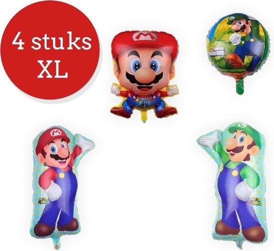 Super Mario Ballonnen - Mario Versiering - Verjaardag - Ballon - Folie ballon set