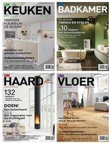 UW woonmagazine inspiratie pakket - Badkamers - Keukens - Vloeren - Haarden