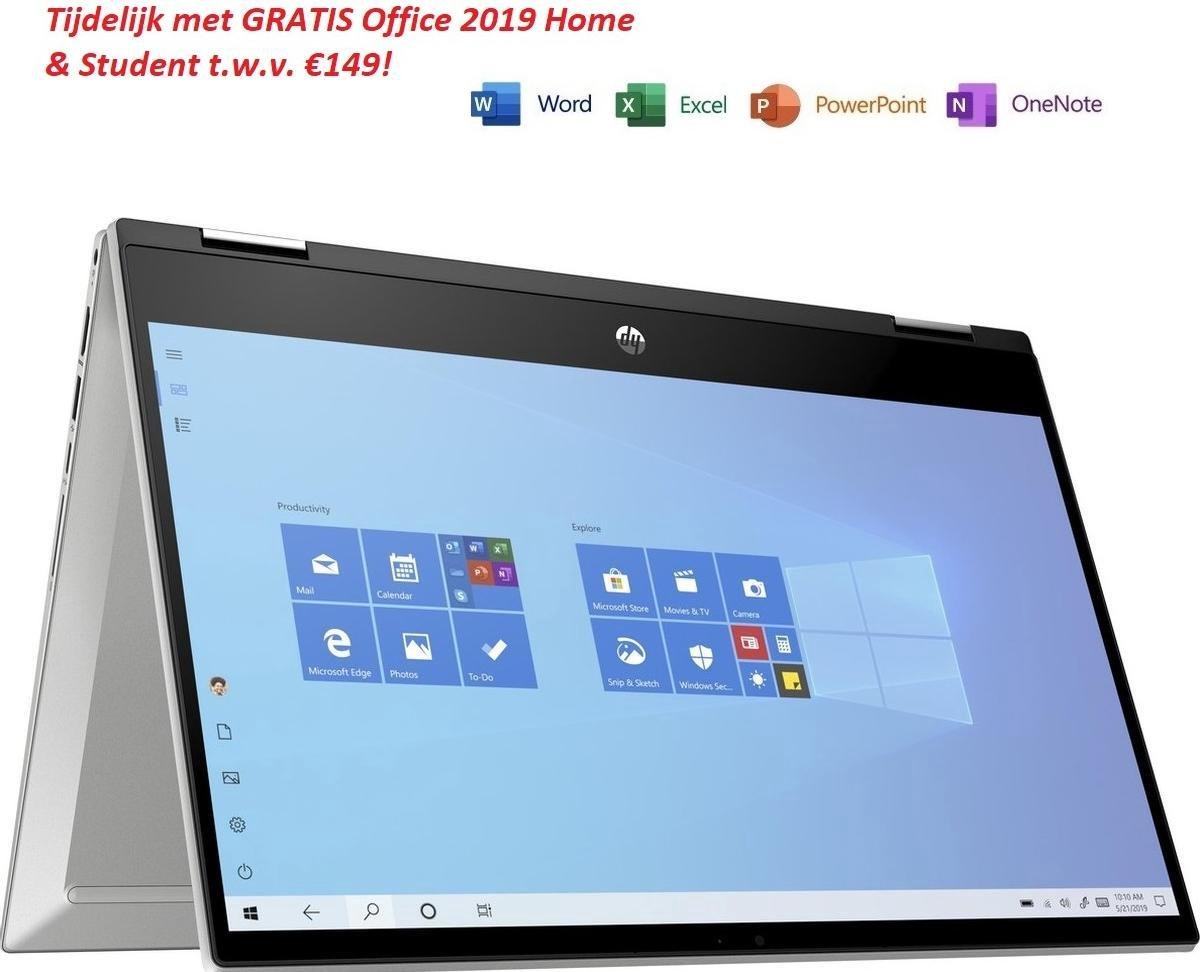 HP Pavilion x360 - Laptop - 14 inch