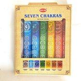 HEM - Seven Chakras - Wierook stokjes - giftpack - 7 doosjes