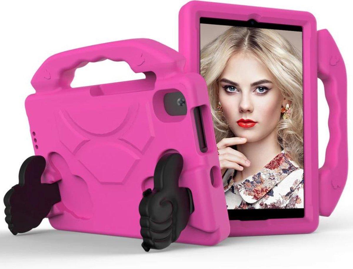 Kindertablet M81 Roze - kidstablet disney+ netflix - Tablet 8 inch - 64GB - Android 9.0 - vanaf 2 jaar - Scherp hd ips beeld - leerzame tablet voor kinderen - Wifi - Bluetooth - voor camera - sim kaart slots - kinder tablet - uitstekende batterij