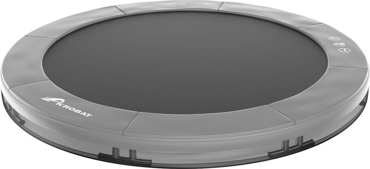Akrobat Orbit Inground Trampoline 244 cm - Antraciet