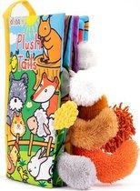 Jollybaby™ Teether Book   Bijtboekje   KnuffelBoekje   Jollybaby Plush tails boekje