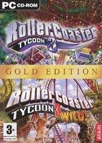 Rollercoaster Tycoon 3 - Gold Edition (Volledig Engelstalig) - PC
