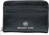 Michael Kors SM ZA Coin Card Case Dames Portemonnee - Zwart