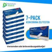 Acon Biotec | Flowflex Corona Snel-zelftest | 7 stuks | apart verpakt - NL verpakking en bijsluiter!