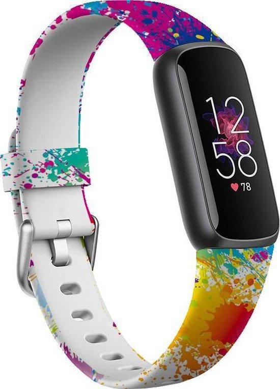 YONO Fitbit Luxe Bandje - Siliconen – Confetti