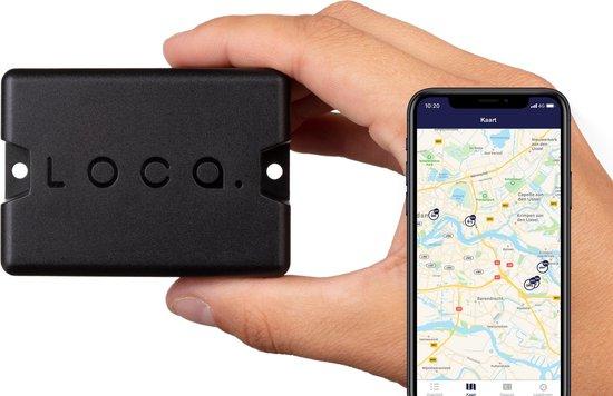 Loca GPS Tracker - Geen abonnement nodig - 3 jaar batterijduur - Waterdicht (IP67) - Volg je waardevolle bezittingen met Loca