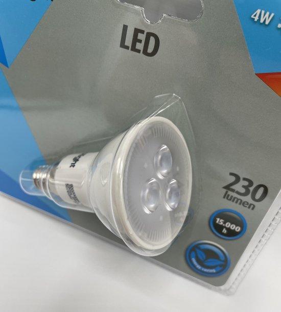Prolight LED spot lamp E14 (kleine fitting) - Warm wit spotlight 4watt 3000k A+ label