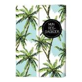 Strengholt - reisdagboek palmbomen - dagboek reizen floral - hardcover