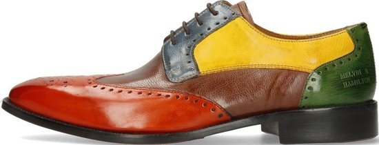 Melvin & Hamilton Heren Derby schoenen Jeff 14