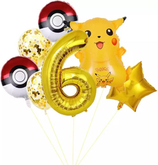 Pokemon Ballon Droom Thema Party Decoratie Benodigdheden Pikachu Squirtle Bulbasaur Verjaardagsfeestje Pocket Ballon Gift