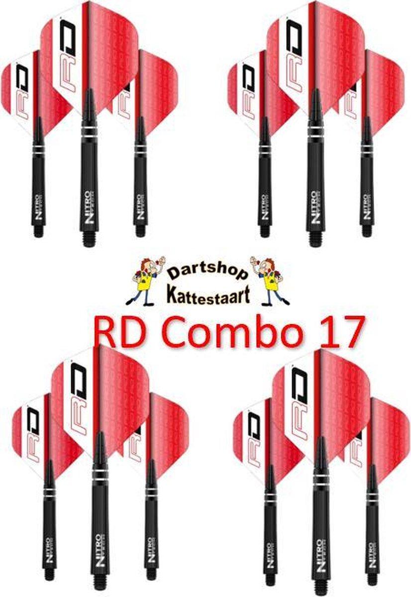 Red Dragon Flights & Shafts Combo 17
