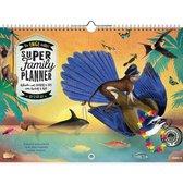 De enige Echte Super Family Planner 2022 - Multicolor