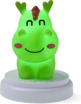Alecto CUTE DRAGON - LED nachtlampje, draak, groen