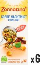 Zonnatura Goede Nachtrust Biologische Thee - 6 x 20 theezakjes