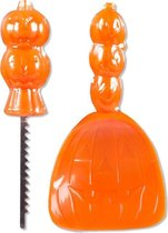 Boland Halloween Snijset Pompoen 2-delig Oranje
