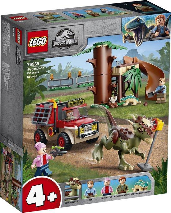 LEGO Jurassic World Stygimoloch Dinosaurus Ontsnapping - 76939