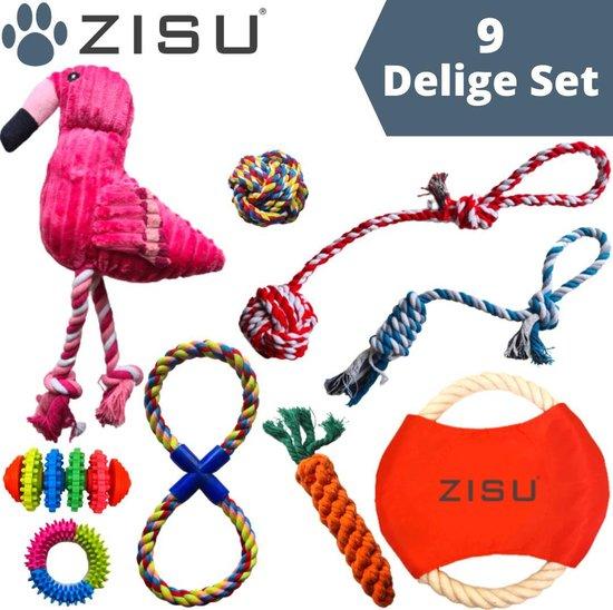 Honden speelgoed set - Hondenspeeltjes - Hondenspeelgoed - Puppy speelgoed - Honden speelgoed intelligentie - 9 stuks
