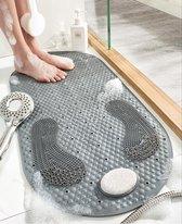 Power Goods Douchemat antislip voor douche - antislipmat et puimsteen - Badkamermat - Antislip mat douche - Badmat - Douchemat - Antislipmatten - 40X80cm