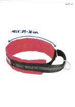 Comfortabele reflecterende halsband voor honden - XS - ROOD