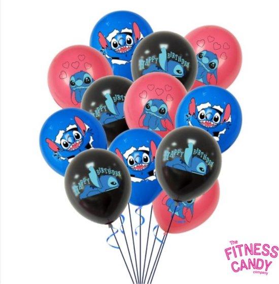 Lilo & Stitch ballonnen - Set van 12
