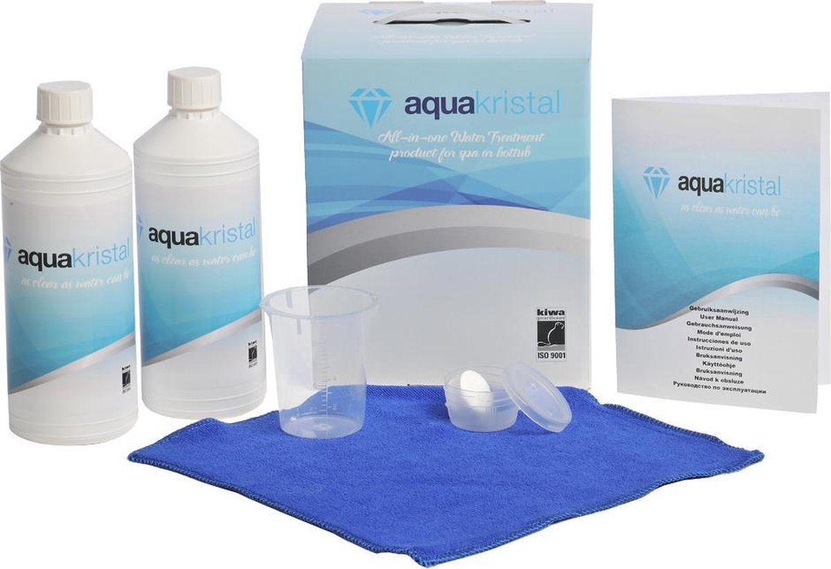 Aqua Kristal zonder chloor