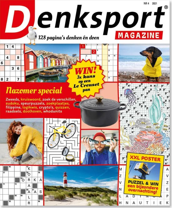 Afbeelding van Denksport Puzzelboek Magazine, editie 4