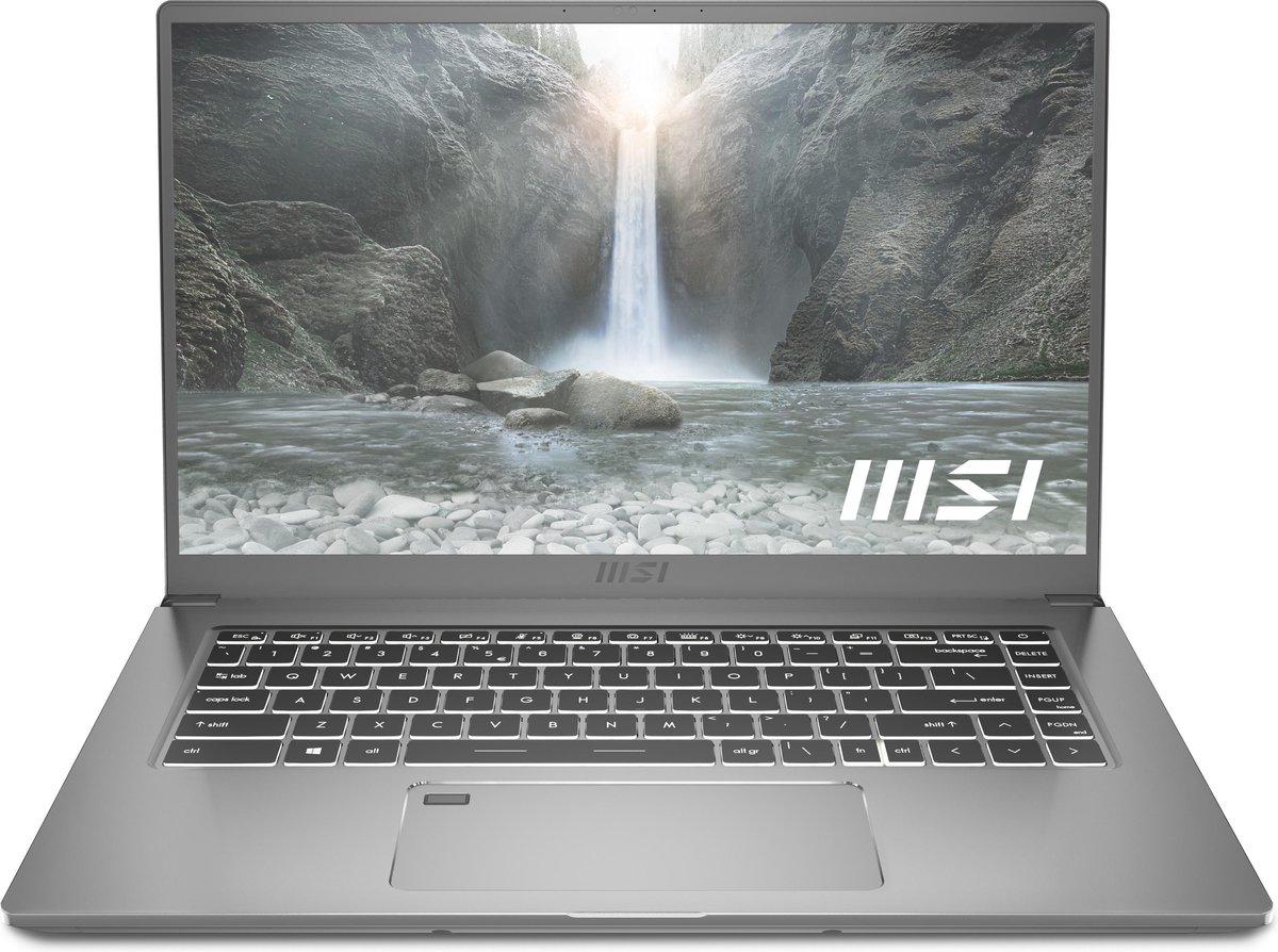 MSI Prestige 15 A11SCX-406BE – Creator Laptop – 15,6 inch – AZERTY