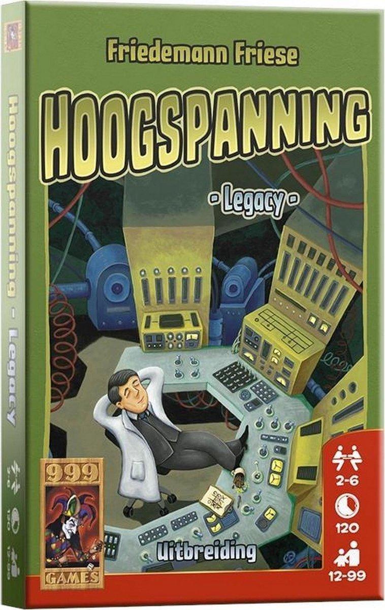 Hoogspanning: Legacy Bordspel